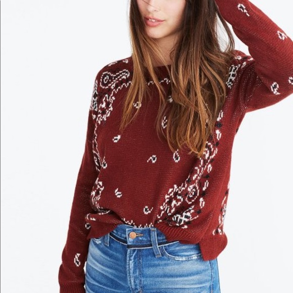Madewell sweater, size XS